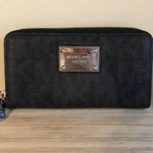Black Michael Korda Wallet